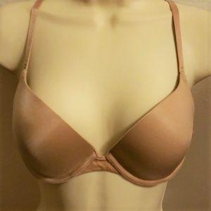 Victoria's Secret 34C Demi Uplift Beige Bra